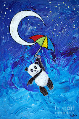 Painting - Panda Dreams by Ella Kaye Dickey