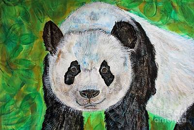 Painting - Panda by Ella Kaye Dickey