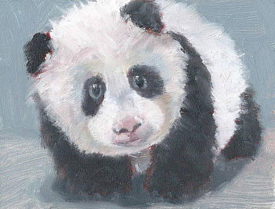 Painting - Panda For Panda by Jessmyne Stephenson