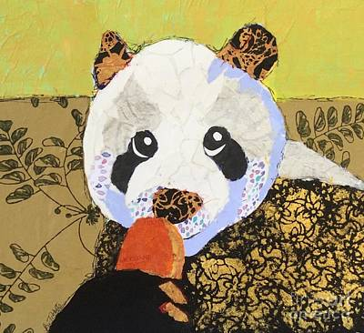 Painting - Panda Pop by Barbara Tibbets