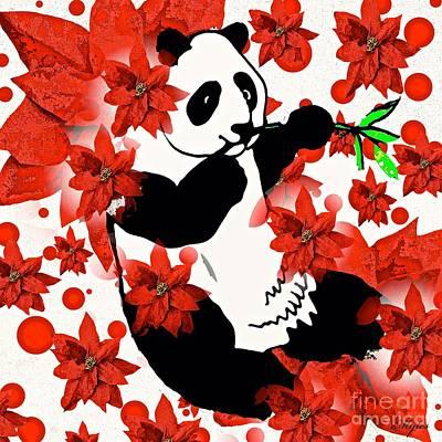 Painting - Panda by Saundra Myles