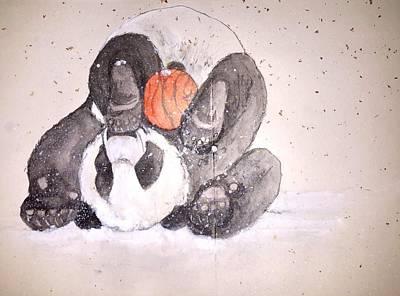 Pandamonium Album Art Print by Debbi Saccomanno Chan