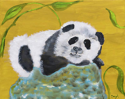 Painting - Pandatude by Meryl Goudey