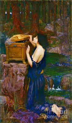 Photograph - Pandora 1896 by Padre Art