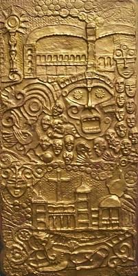 Sphinx Mixed Media - Pandora Box by Otil Rotcod