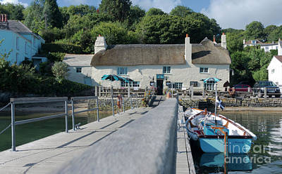 Photograph - Pandora Inn Cornwall by Terri Waters