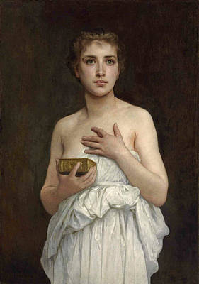 0d8cb6fcad47 Pandora Painting - Pandora by William-Adolphe Bouguereau
