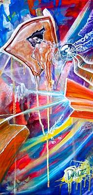 Whimsical Painting - Pandora's Aegis by Luke Horowitz