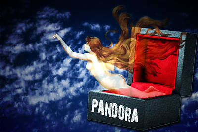 Digital Art - Pandoras Box by John Haldane