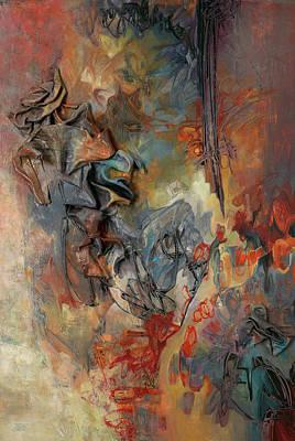 Painting - Pandora's Box L by Thyra Moore