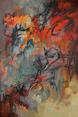 Painting - Pandora's Box R by Thyra Moore