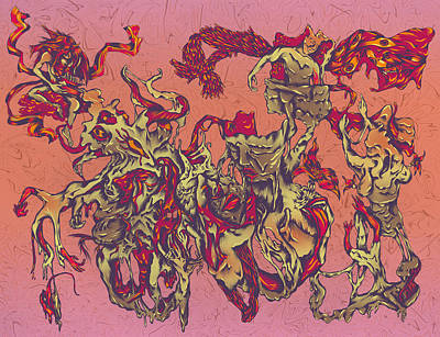 Pandora's Regret Art Print by Adrian Dela Cerna