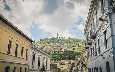 Photograph - Panecillo Of Quito, Ecuador by Alexandre Rotenberg