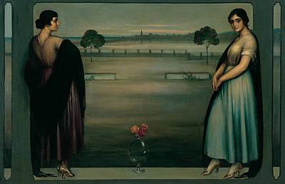 Painting - Panel by Julio Romero de Torres