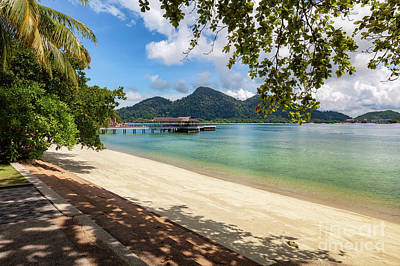 Photograph - Pangkor Laut Malaysia by Adrian Evans