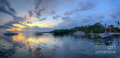 Photograph - Panglao Port Sunset 11.0 by Yhun Suarez