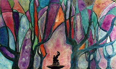 Painting - Pangrove by Linda Falorio