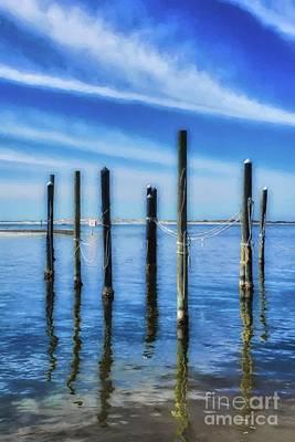 Photograph - Panhandle Poles # 2 by Mel Steinhauer