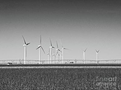 From The Kitchen - Panhandle Windmills by Gary Richards