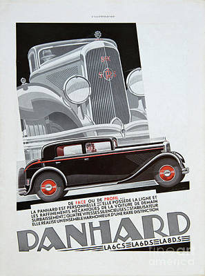 Photograph - Panhard #8703 by Hans Janssen