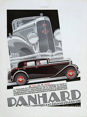 Photograph - Panhard #8703 by Hans Janssen