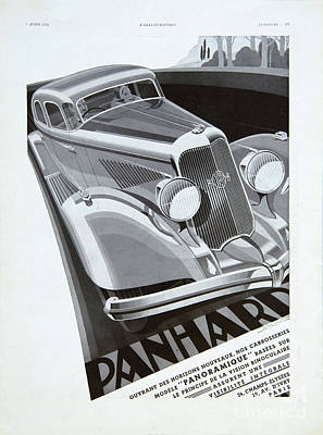Photograph - Panhard #8710 by Hans Janssen
