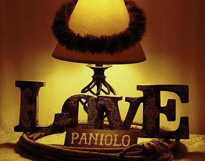 Art Print featuring the photograph Paniolo Love by Pamela Walton