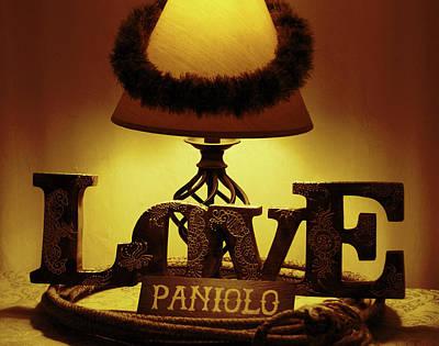 Photograph - Paniolo Love by Pamela Walton