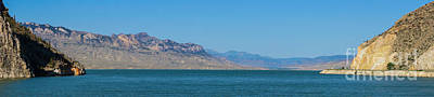 Photograph - Pano Buffalo Bill Reservior by Jennifer White