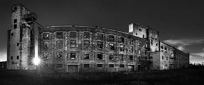 Photograph - Pano Of The Fort William Starch Company At Sunset by Jakub Sisak