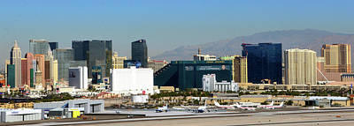 Photograph - Pano Vegas by David Lee Thompson