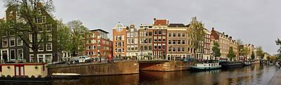 Photograph - Panorama. Amsterdam by Jouko Lehto