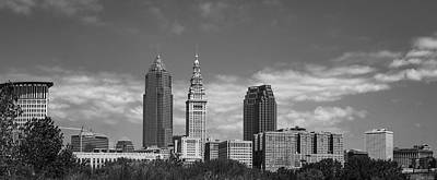 Photograph - Panorama Cleveland by Dale Kincaid