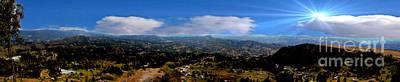 Panorama From Pachamama II Art Print