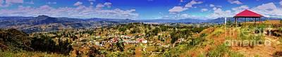 Panorama From Pachamama To Cuenca Art Print