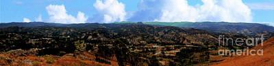 Photograph - Panorama From Pachamama V by Al Bourassa