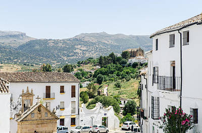 Photograph - Panorama From Ronda - Spain 2 by Andrea Mazzocchetti