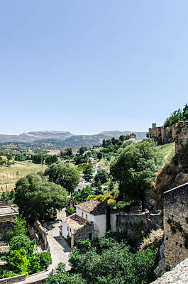 Photograph - Panorama From Ronda - Spain  by Andrea Mazzocchetti