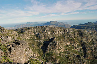 Photograph - Panorama From The Top Of Table Mountain by Harvey Barrison