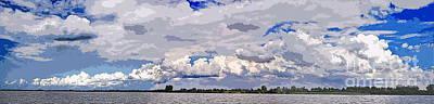 Photograph - Panorama Giethoorn by Arie Van Garderen
