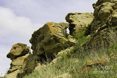 Photograph - Panorama Hill Bluffs by Donna Munro