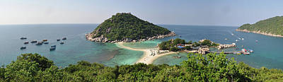 Photograph - panorama Koh Nang Yuan by Sushko