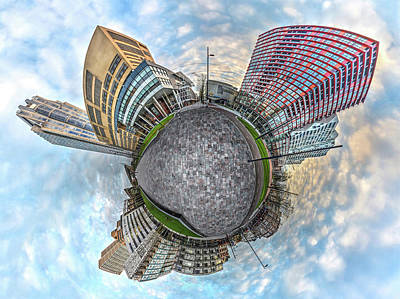 Photograph - Panorama Kruisplein Rotterdam by Frans Blok