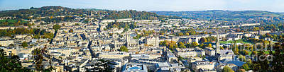 Photograph - Panorama Of Bath by Colin Rayner