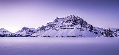 Panorama Of Bow Lake  Original by Yves Gagnon
