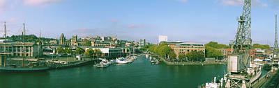 Photograph - Panorama Of Bristol Harbour by Jacek Wojnarowski