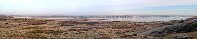 Photograph - Panorama Of Christchurch Harbour by Chris Day