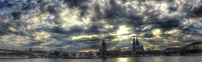 Photograph - Panorama Of Cologne by Dirk Jung
