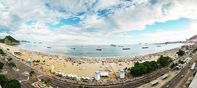 Photograph - Panorama Of Copacabana, Rio De Janeiro, Brazil  by Alexandre Rotenberg