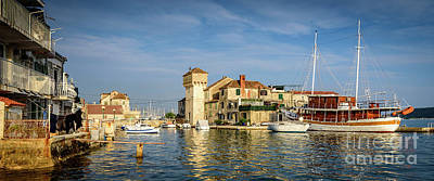 Photograph - Panorama Of Kastel Gomilica In Kastela, Free City Of Braavos In Game Of Thrones, Split, Croatia by Global Light Photography - Nicole Leffer